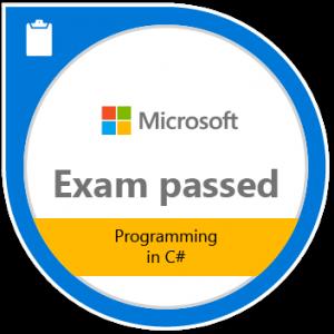 Exam 483: Programming in C#
