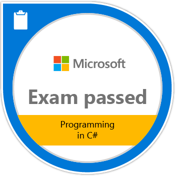 Exam 483: Programming in C#