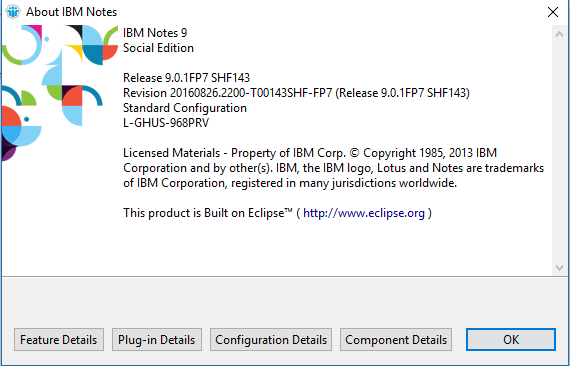 ibm-notes-9-0-1-fp7-shf143-about